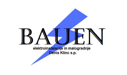 BAUEN elektroinstalacije in malogradnje Denis Klinc s.p.