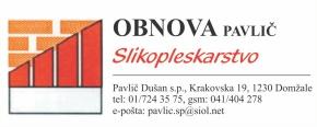 PAVLIČ DUŠAN S.P. - OBNOVA PAVLIČ SLIKOPLESKARSTVO